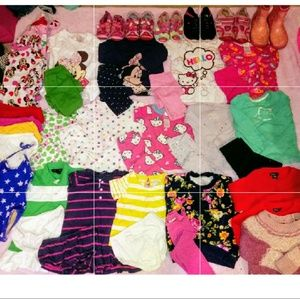 Girls Clothing+Shoes Sz. 12-2T Lot of 30
